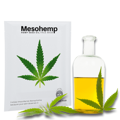 Mesohemp hemp seed oil face mask