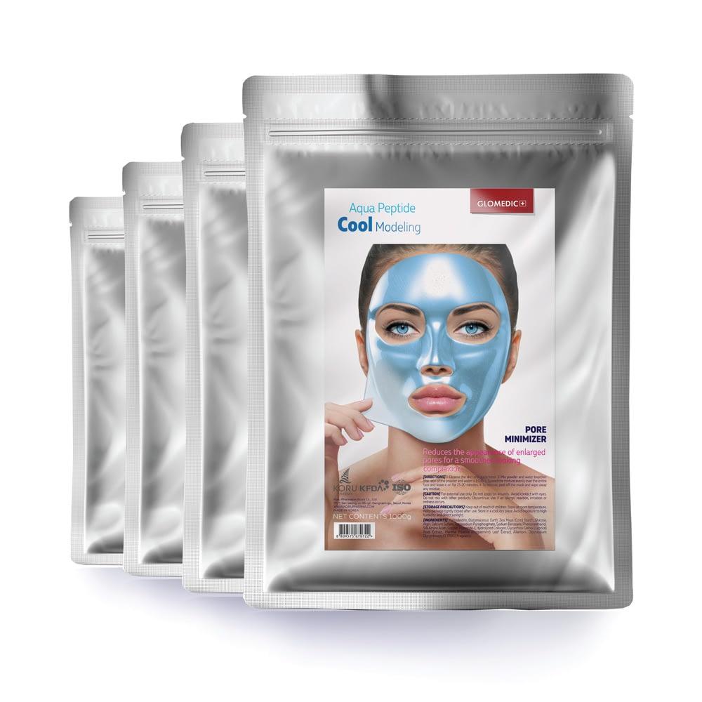GLOMEDIC Cool facial mask packets
