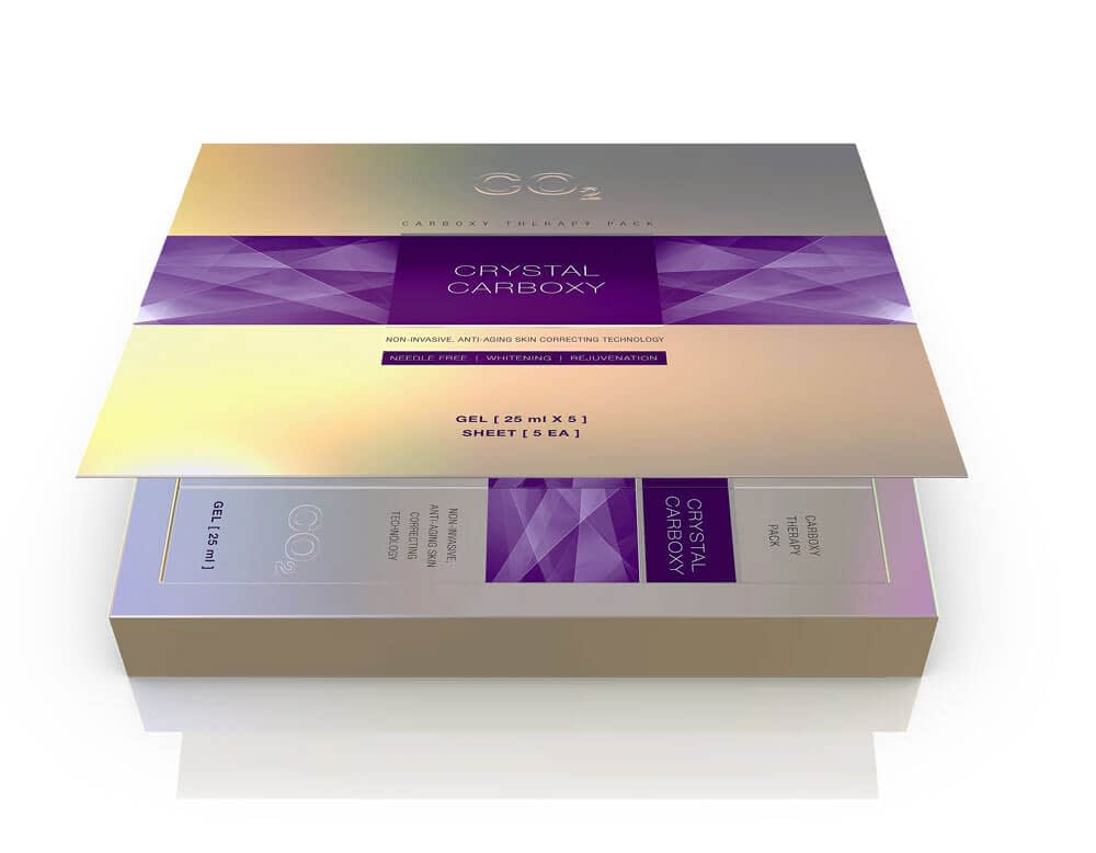 crystal carboxy co2 therapy mask